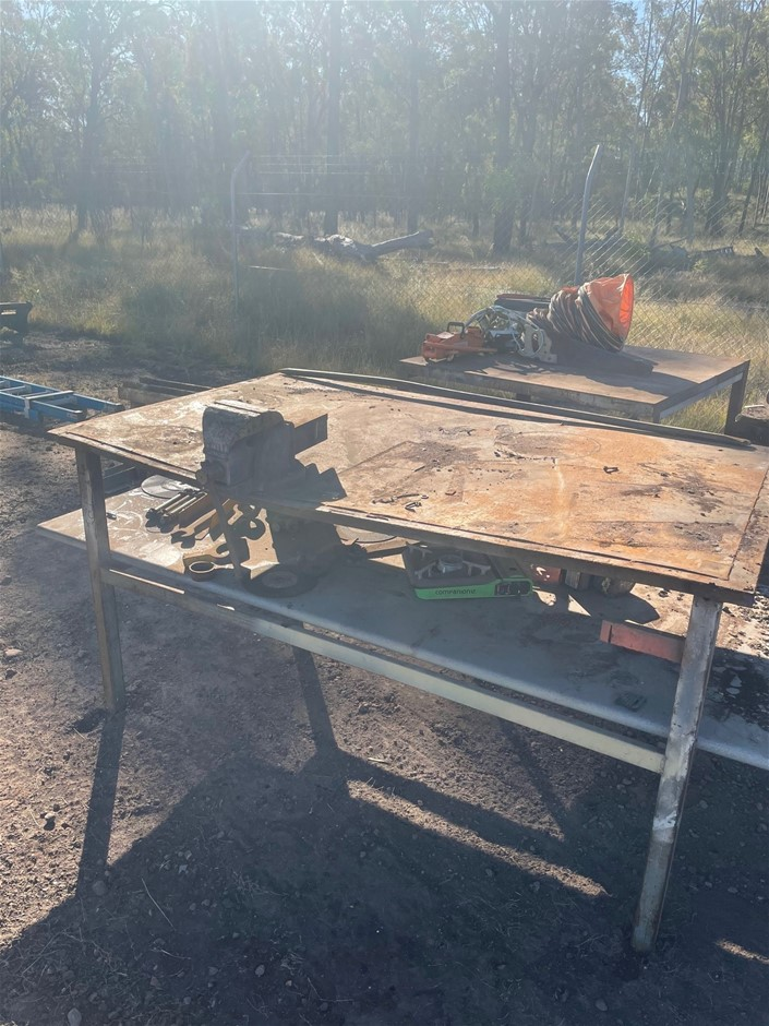 2 x Steel Benches