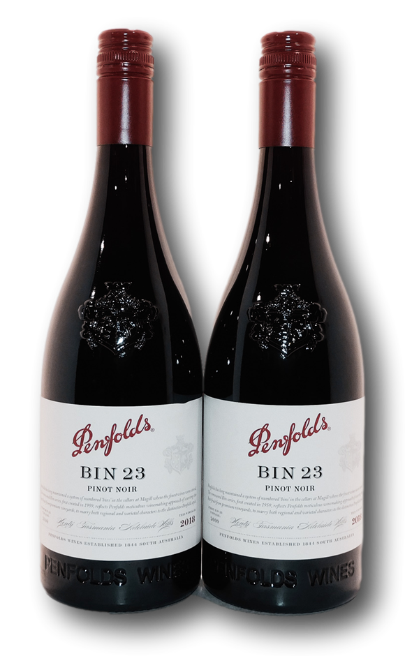Penfolds Bin 23 Pinot Noir 2018 (2x 750mL), Adelaide Hills