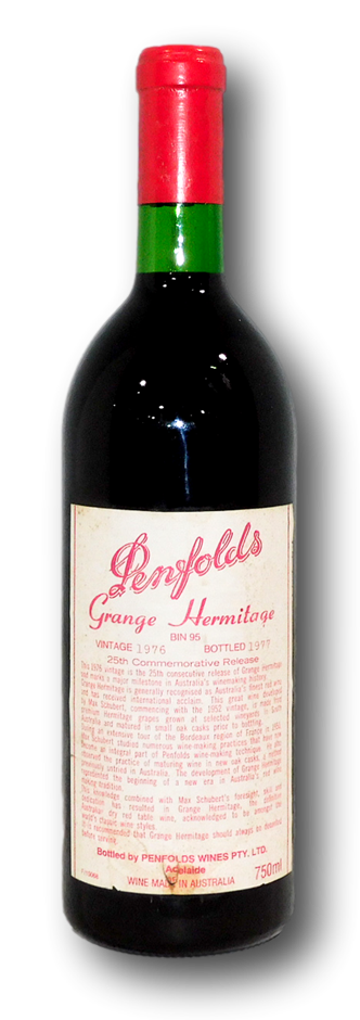 Penfolds Bin 95 Grange 1976 (1x 750mL), SA