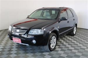 2005 Ford Territory Ghia (RWD) SX Automa