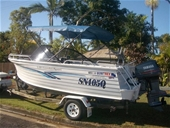 QUINTREX FREEDOME SPORTS 530 BOAT