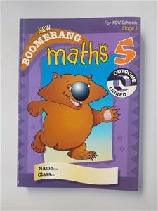 10 X NSW Boomerang Maths 5 student book,
