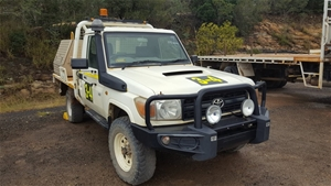 Toyota Landcruiser 4 X 4 Utility