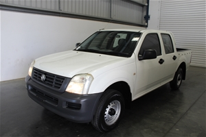 2005 Holden Rodeo DX RA Dual Cab