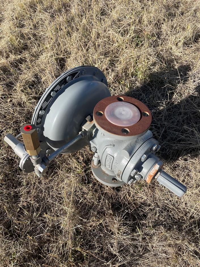 Qty of 2 x Fisher Gas Control Regulator