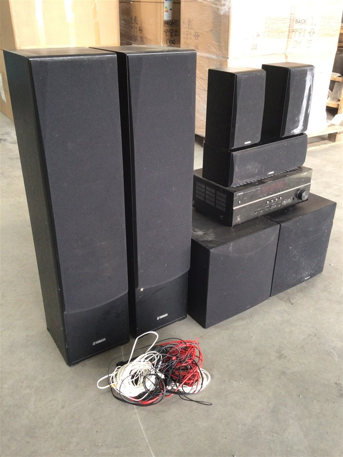 Yamaha Livestage 6400 5.2 Channel Home Theatre System