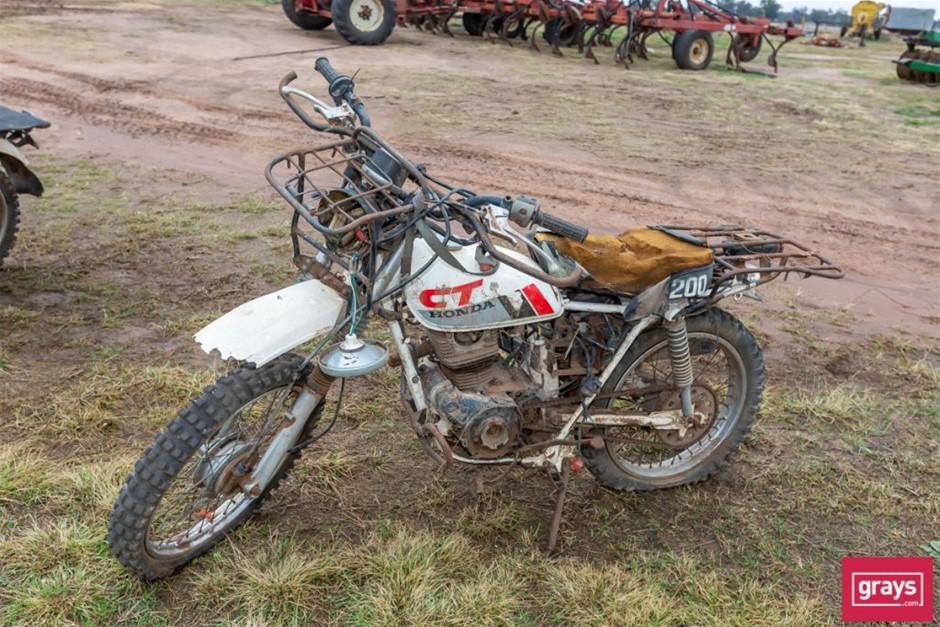 1987 Honda CT200 Motor Bike