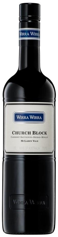 Wirra Wirra Church Block Red Blend 2019 (6x 750mL).