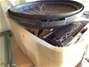<p>Plastic Tub Containing Rubbish Bags, Kambrook Kettle</p>