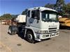<p>1999 Mitsubishi FP 500 4 x 2 Prime Mover Truck</p>