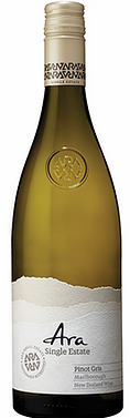Ara Single Estate Pinot Gris 2020 (6x 750mL). NZ