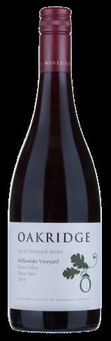 Oakridge LVS Willowlake Vineyard Pinot Noir 2018 (6x 750mL), Yarra Valley