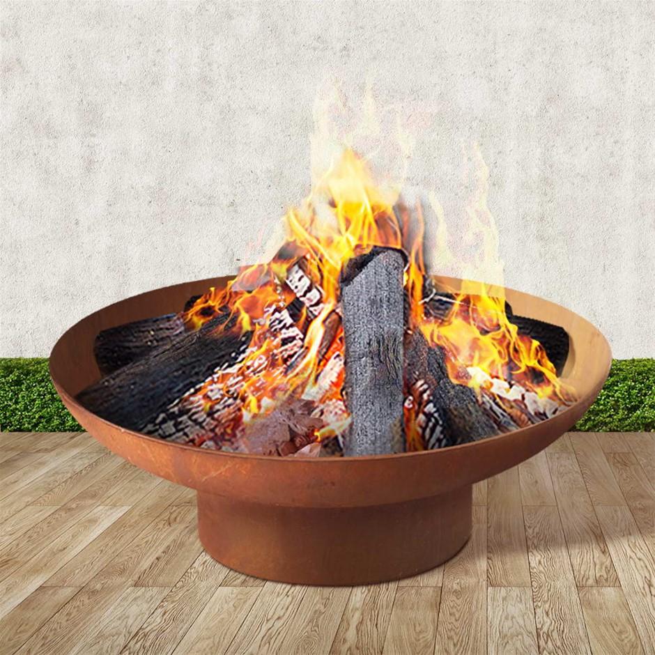 Grillz Outdoor Fire Pit 80CM