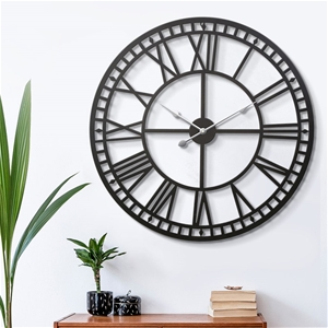 Wall Clock Extra Large Modern Silent No