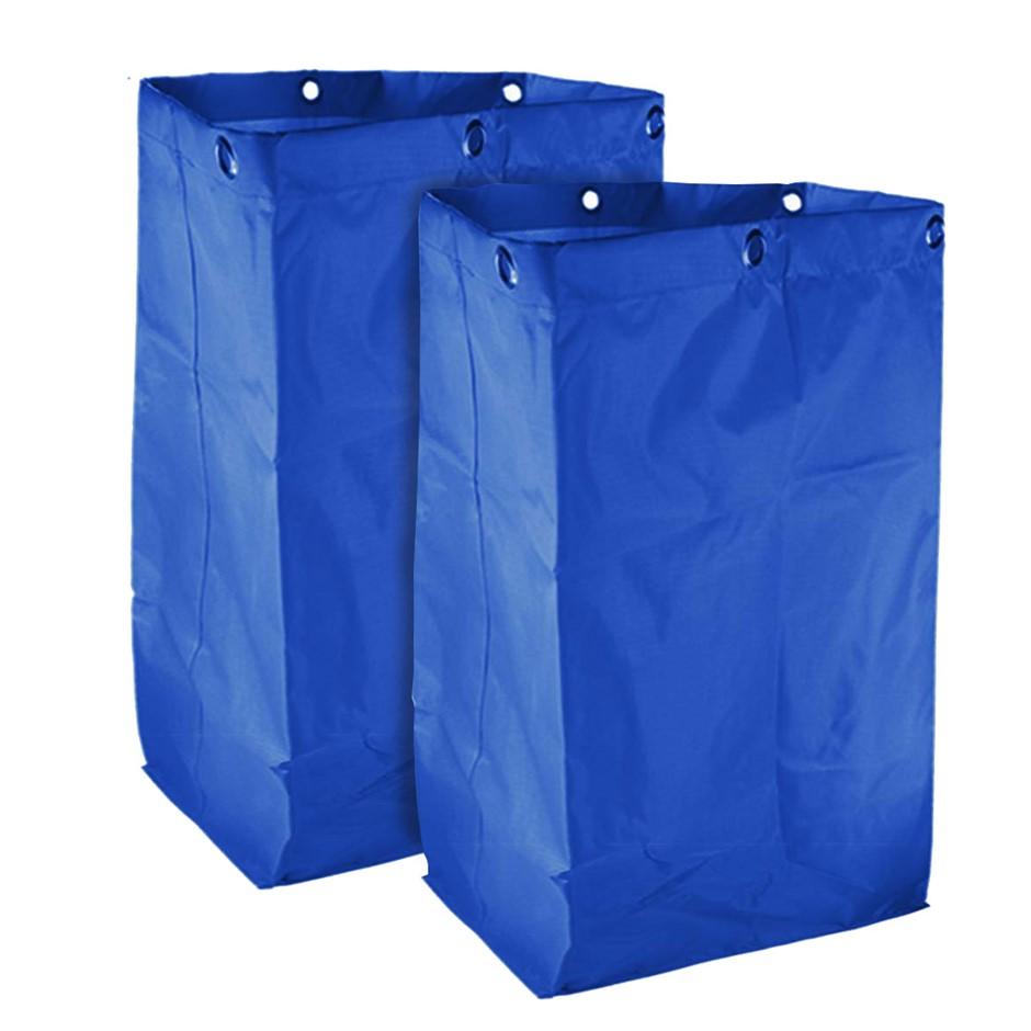 SOGA 2X Oxford Waterproof Reusable Housekeeping Cart Replacement Bag