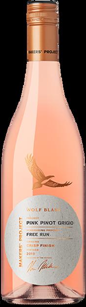 Wolf Blass Maker's Project Pink Pinot Grigio 2020 (6x 750mL).