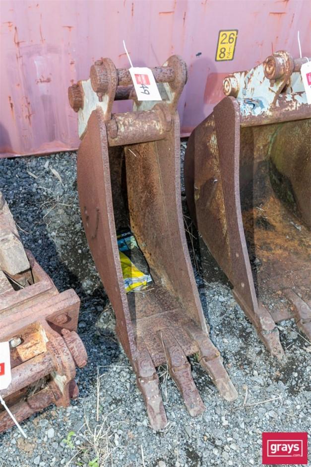 Excavator Tooth Bucket Attachment