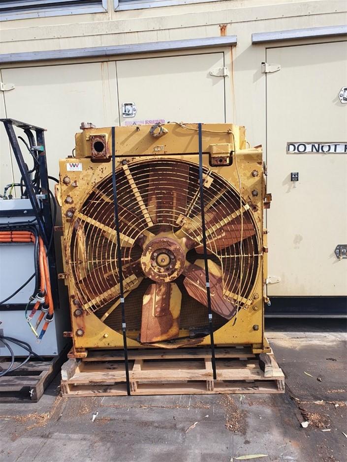 Radiator from Komatsu Excavator