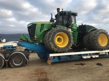 3 John Deere Scraper Tractors