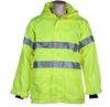 ACE Hi-Viz Breathable All Weather Jacket, Size L (117cm) Zip/Velcro Front C