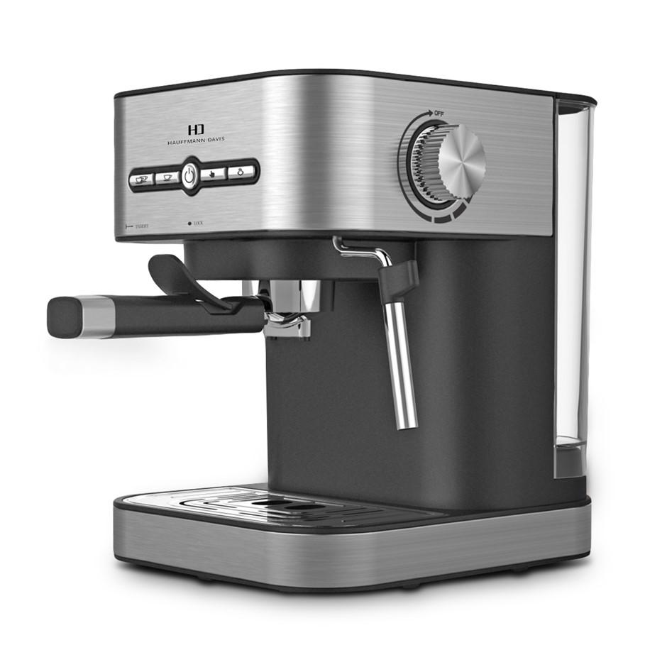 Hauffmann Davis SA-CM-2009 Espresso Coffee Machine Automatic Pump Frother