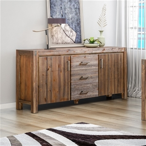 Buffet Sideboard Constructed Solid Acaci