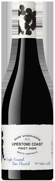 Bare Wine Makers Limestone Coast Pinot Noir 2020 (12x 750mL)