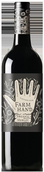 Farm Hand Merlot [organic] 2019 (6x 750mL)
