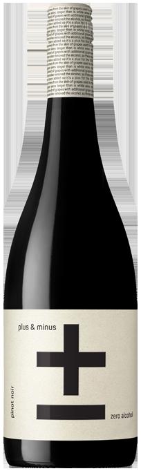 Plus & Minus (Zero Alcohol) Pinot Noir 2020 (6x 750mL)