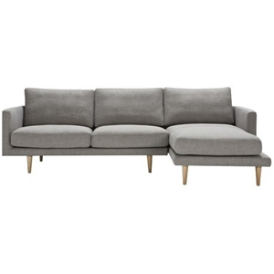 Freedom furniture studio modular 2 5 seat sofa with for 2 5 seater sofa with chaise