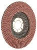 10 x TOLSEN Aluminum Oxide Flap Discs, 125x22.2mm, Grit 120, Fibre Backing.