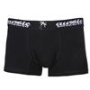 4 Pairs x TOMMY BURKE Men`s Reversible Boxers Briefs, Size M Cotton Rich Bl