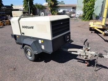 Doosan Trailer Mounted Air Compressor