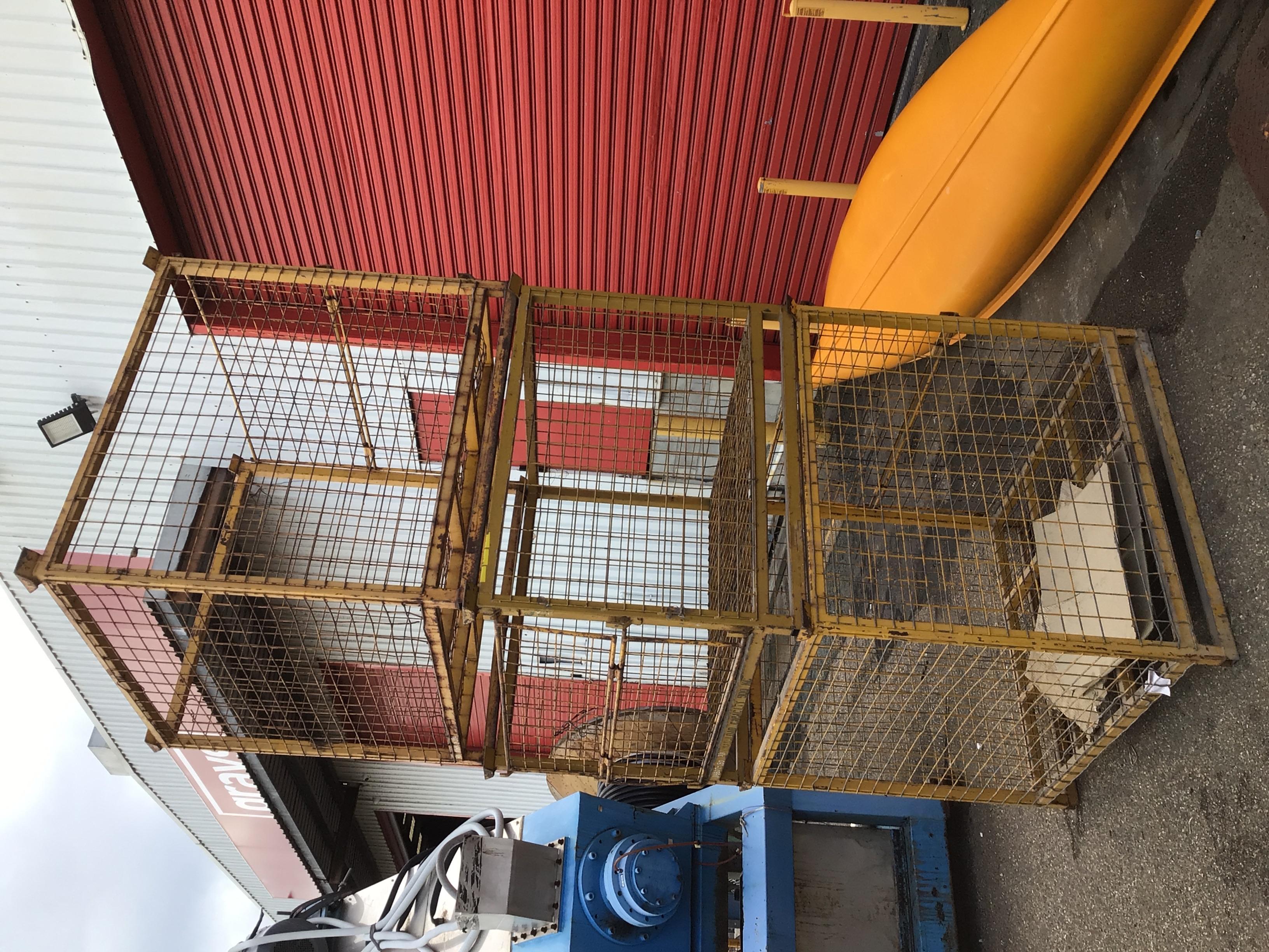 3x Various Size Cage Stillage's