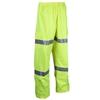 ACE Hi-Vis Breathable Rain Pants, Size 5XL with 3M Reflective Tape, Elastic