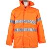 ACE Hi-Viz Breathable All Weather Jackets, Size M/L (Fits Chest 107cm), Zip