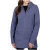 SIGNATURE Women`s Soft Lined Jacket w/ Hood, Size M, Polyester/Elastane, Ni