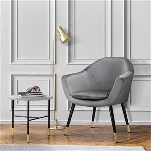 Artiss Armchair Accent Chair Retro Woode