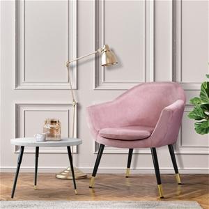 Artiss Armchair Lounge Chair Accent Retr