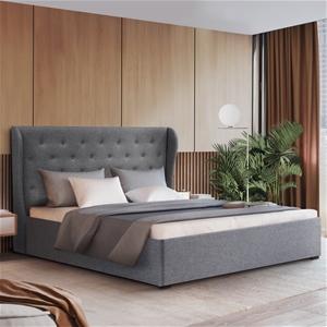 Artiss Double Full Gas Lift Bed Frame Ba