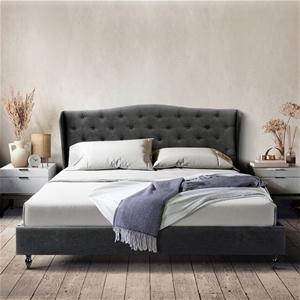 Artiss King Bed Frame Base Mattress Plat