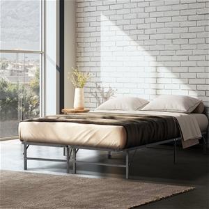 Artiss Foldable Queen Metal Bed Frame -