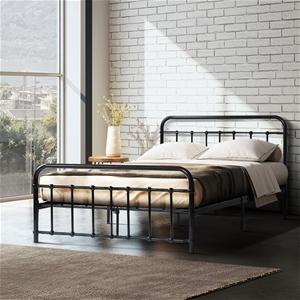 Metal Bed Frame Queen Size Platform Foun
