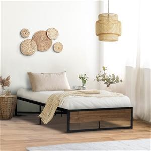 Metal Bed Frame Single Mattress Base Pla