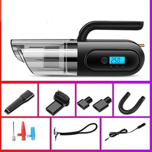 Portable Car Vaccum Cleaner with Digital