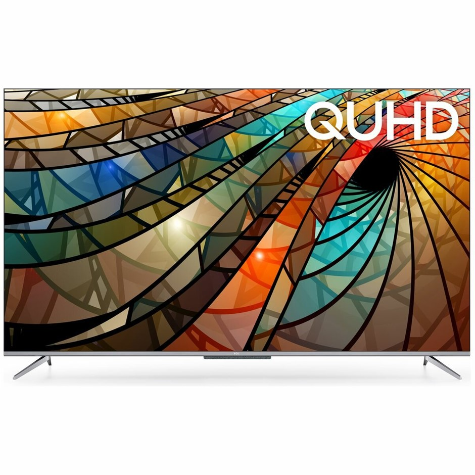 TCL 43`` 4K QUHD Smart LED Television, c/w Remote & Stand, Model #43P715. N