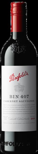 Penfolds Bin 407 Cabernet Sauvignon 2019 (6x 750mL).