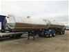 <p>2010 Tieman A and B Double Combination Milk Tanker</p>