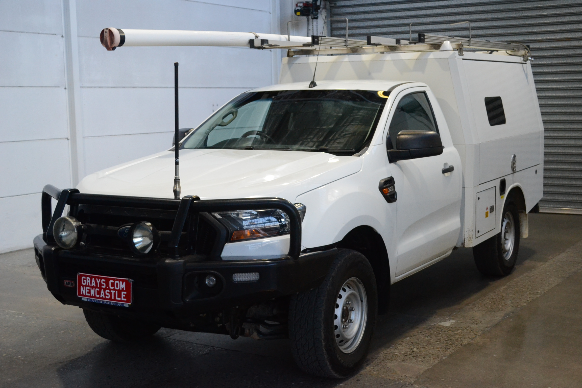 2016 Ford Ranger XL 4X4 PX II T/Diesel Auto Cab Chassis W/ XL Work Fit Out