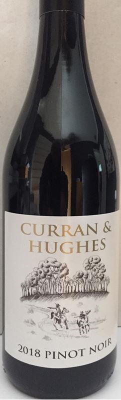 Curran and Hughes Pinot Noir 2018 (6 x 750mL) Eden Valley, SA